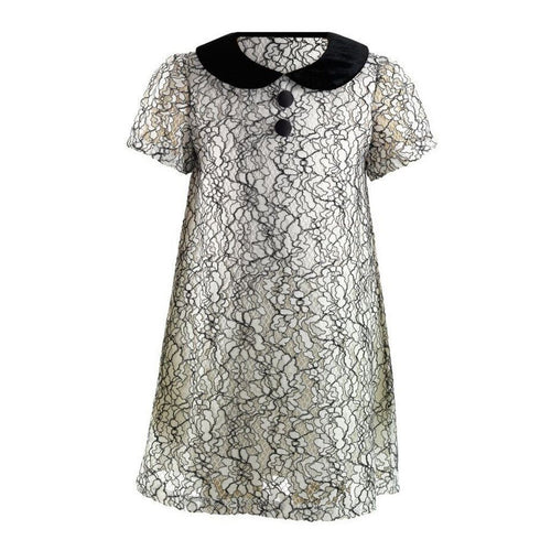 Lace Shift Dress - souzu.co.uk