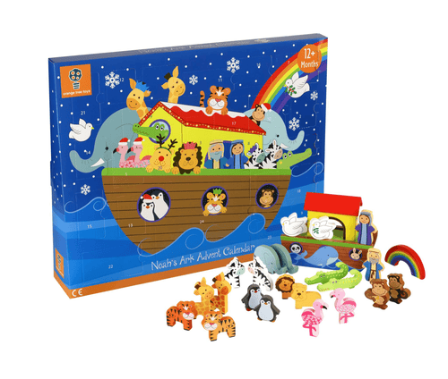 Noah's Ark Advent Calendar.