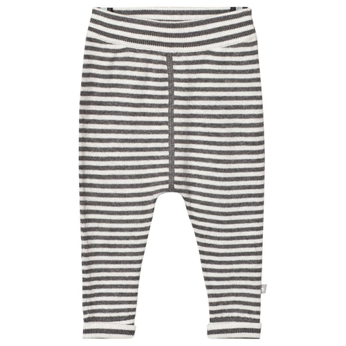 Grey Stripe Cashmere Pants - souzu.co.uk