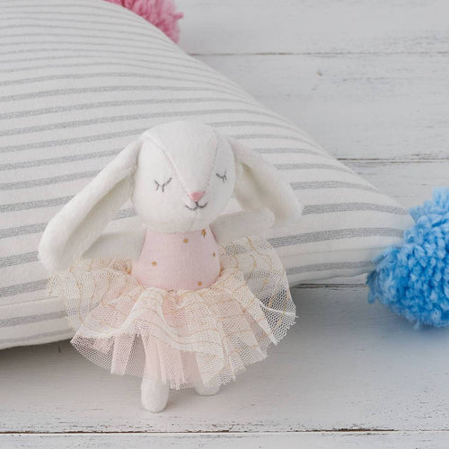 Cotton Velvet Baby Bunny Toy - souzu.co.uk