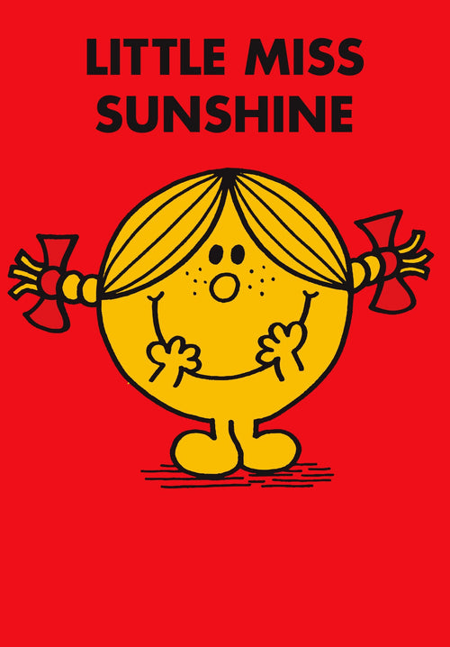 Little Miss Sunshine Minicard