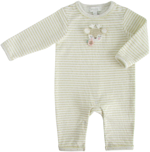 Crochet Deer Babygrow - souzu.co.uk