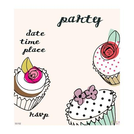 Cupcake Party Invitations - souzu.co.uk