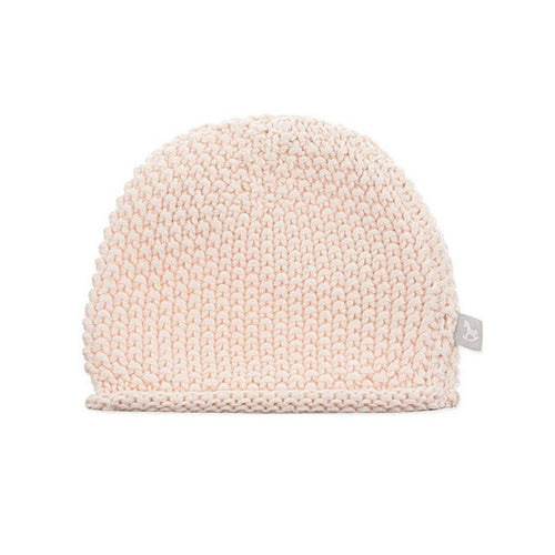 Pink Bobble Stitch Hat