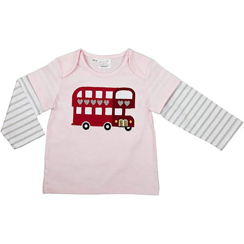 Pink London Bus T-Shirt - souzu.co.uk