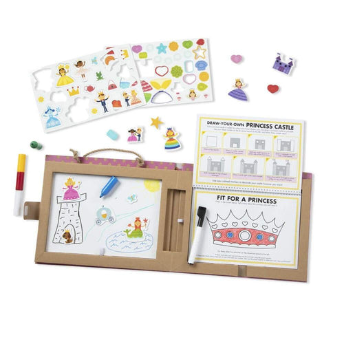 Reusable Drawing and Magnetic Kit Princess