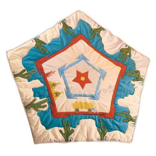 Cowboy Wigwam Floor Quilt - souzu.co.uk