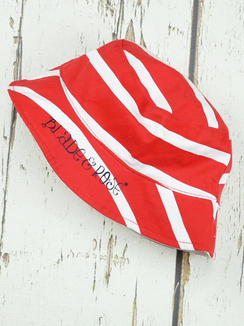 Red and White Summer Hat
