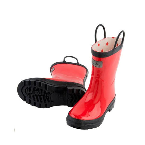 Red Rainboots - souzu.co.uk