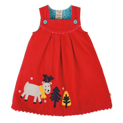Reindeer Cord Dress - souzu.co.uk