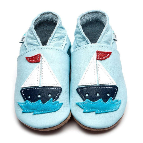 Sail Boat Baby Blue - souzu.co.uk