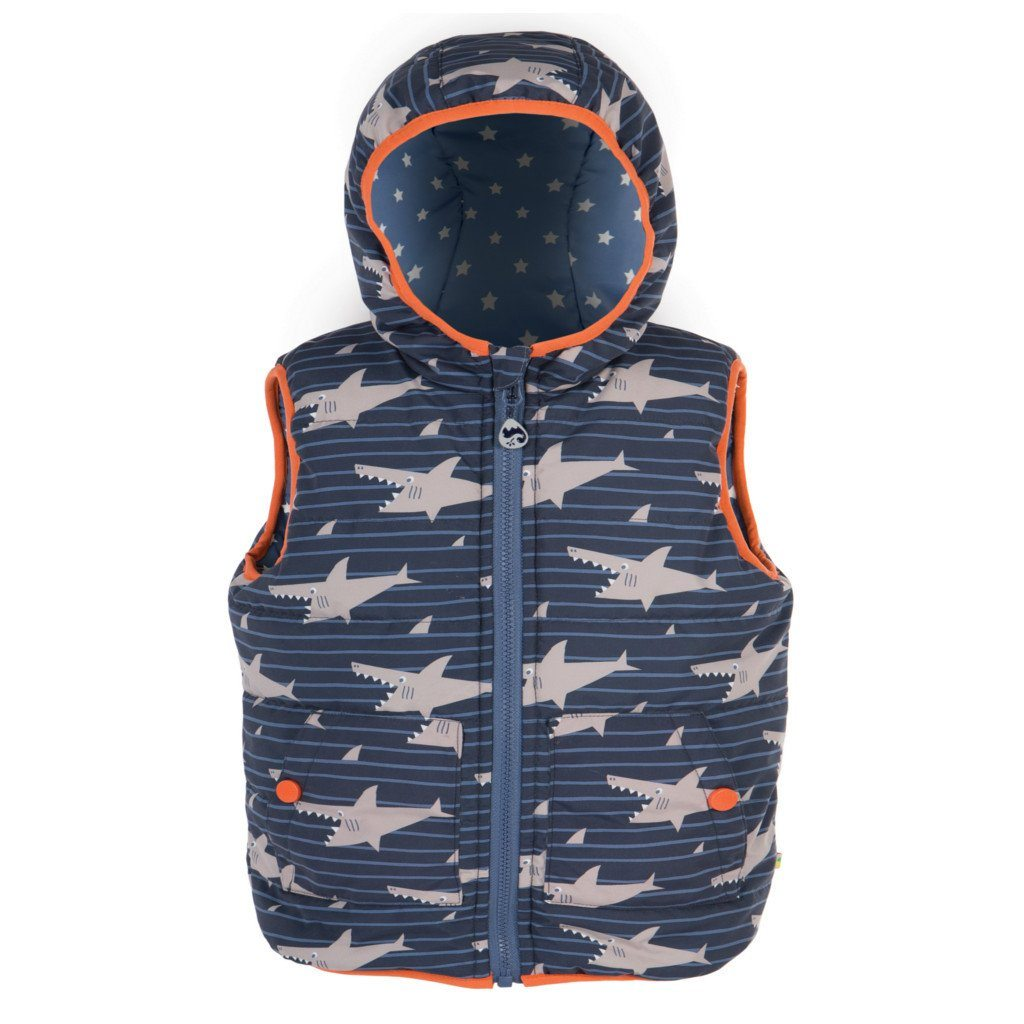 Shark Reversible Gilet - souzu.co.uk
