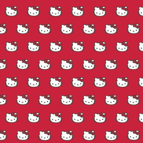 Hello Kitty Red Gift Wrap