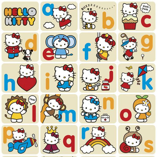 Hello Kitty Alphabet Gift Wrap - souzu.co.uk