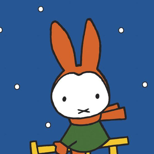 Miffy Christmas Wrapped Card
