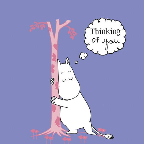 "Moomin Tree ""Thinking of You"" Wrapped Card - souzu.co.uk"