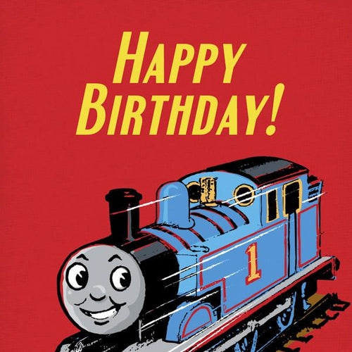 Thomas Happy Birthday Wrapped Card