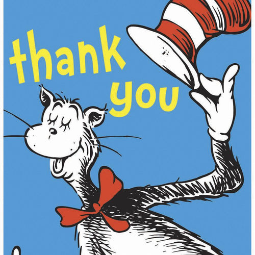 Dr Seuss Thank You Pack - souzu.co.uk
