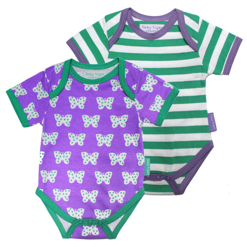 Baby Butterfly T-Shirt - Pack of 2 - souzu.co.uk