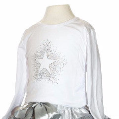 Starburst Diamanté Top - souzu.co.uk