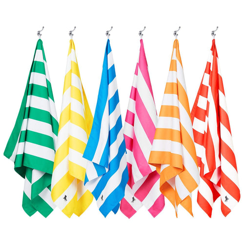 Cabana Set of 6 Large Towels