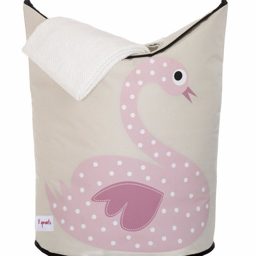 Swan Laundry Hamper - souzu.co.uk