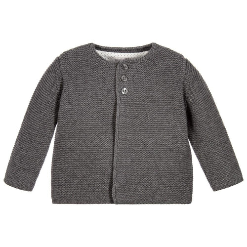 Charcoal Cardigan - souzu.co.uk