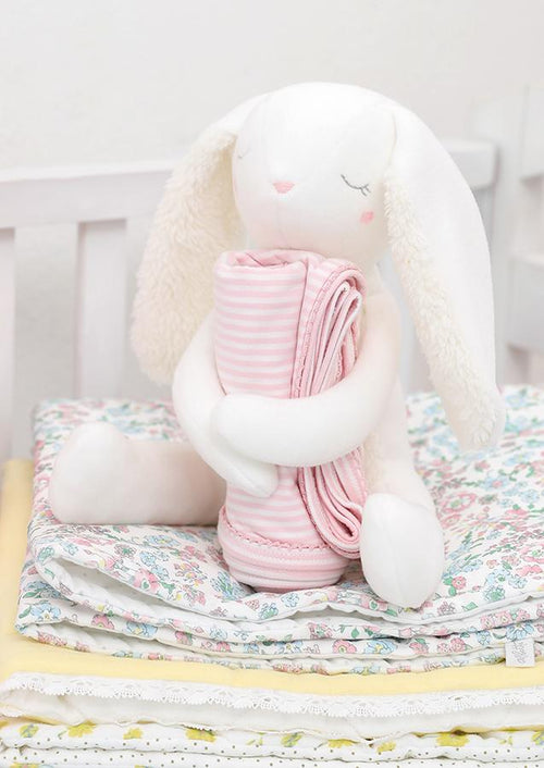 Huggy Bunny Toy and Blanket