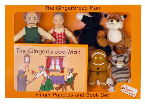 The Gingerbread Man Traditional Story Set - souzu.co.uk