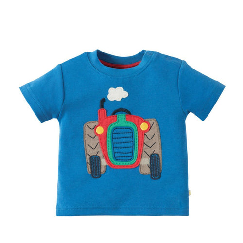 Sail Blue Tractor Top