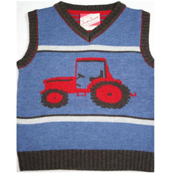 Tractors Merino Tank Top - souzu.co.uk