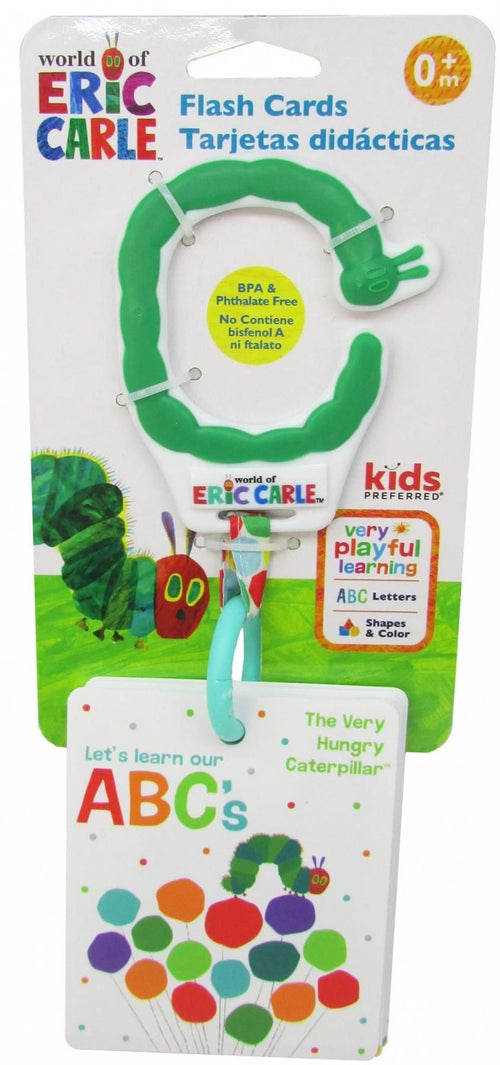 The Very Hungry Caterpillar Alphabet Flash Cards