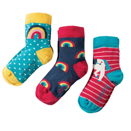 Unicorn Socks Pack of 3