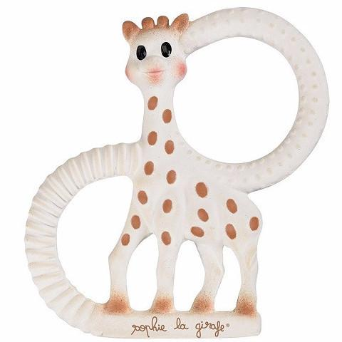 Sophie La Girafe Teething Ring - souzu.co.uk