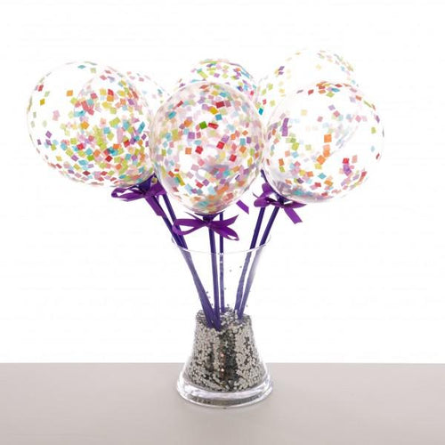 Rainbow Balloon Wands - souzu.co.uk