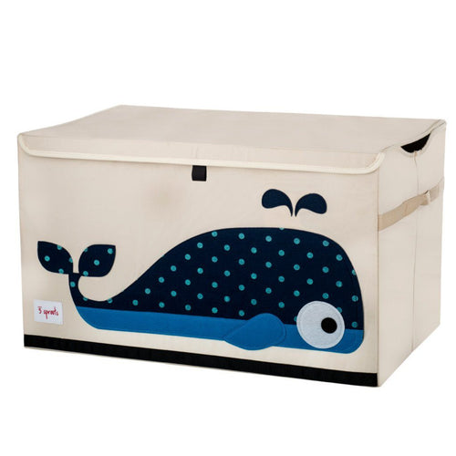 Whale Toy Chest - souzu.co.uk