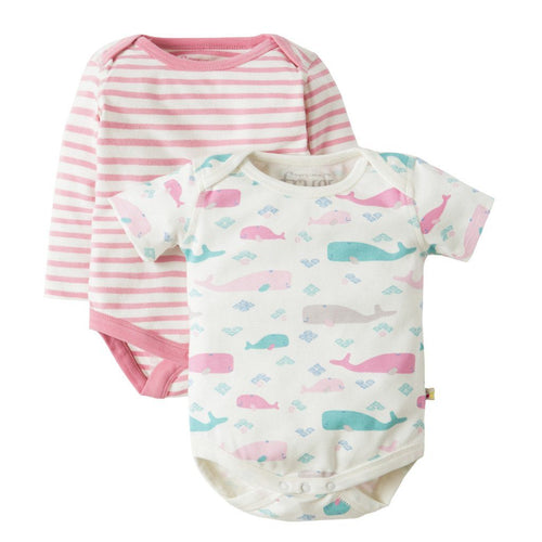 Whale Bodysuit - Pack of 2 - souzu.co.uk
