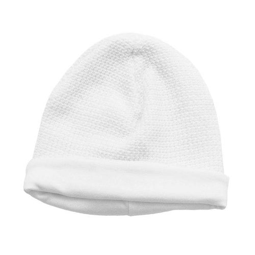 White Honey Bear Hat