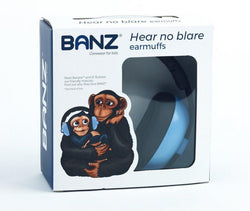 Banz Bubzee Baby Hearing Protection Earmuffs Blue - souzu.co.uk