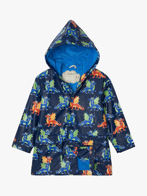 dragons colour changing raincoat