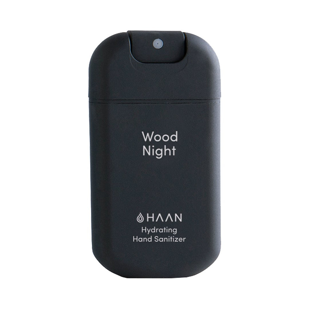 Haan Hand Sanitizer - Wood Night (30ml Spray Bottle)