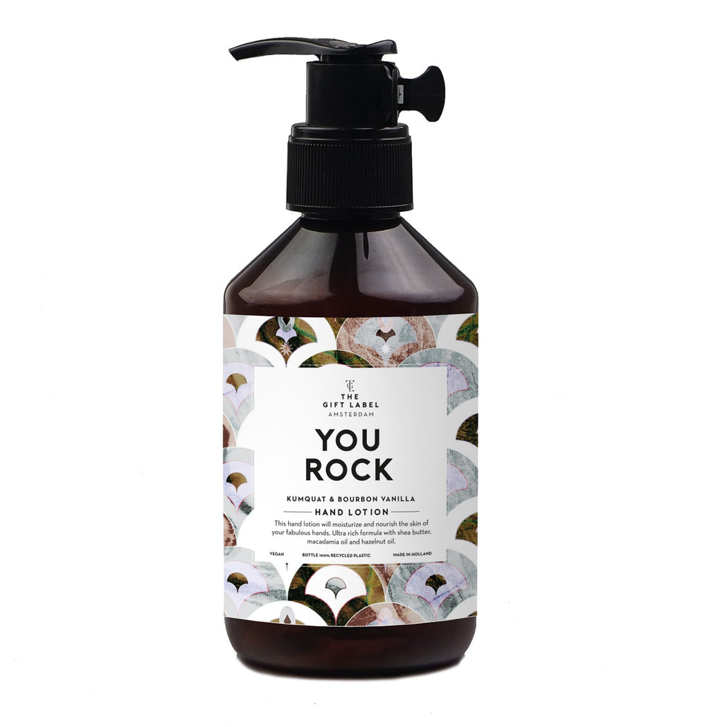 the gift label hand lotion - you rock 250ml