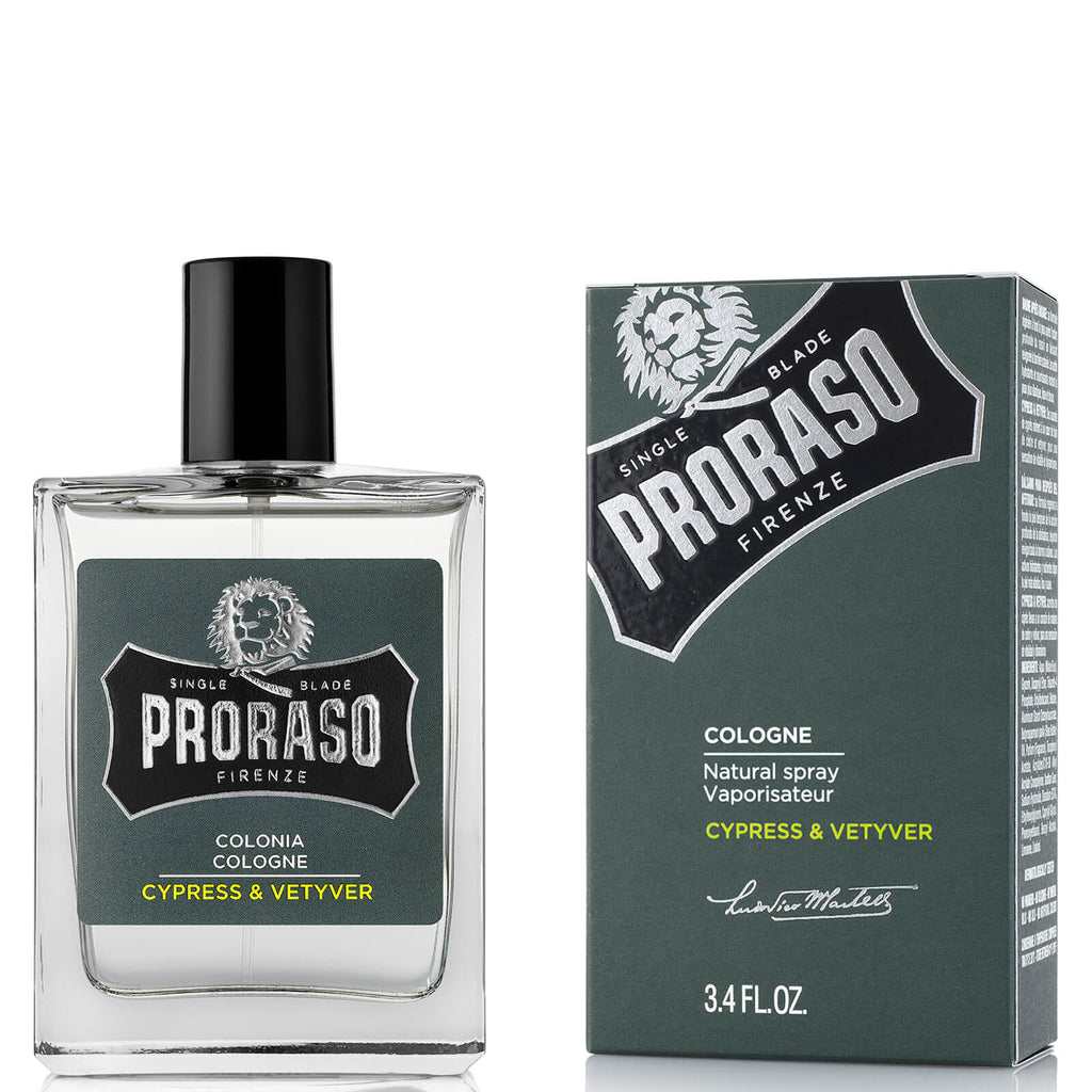 proraso cypress and vetyver cologne 100ml