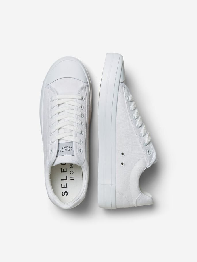 White Canvas Trainer