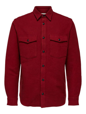 loose fit overshirt