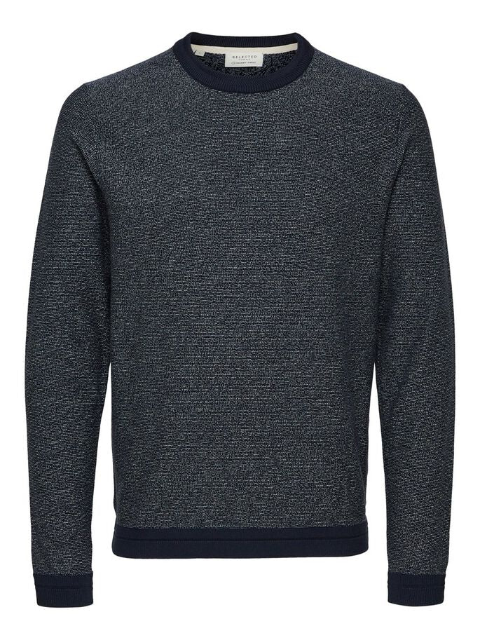 organic crew neck jumper