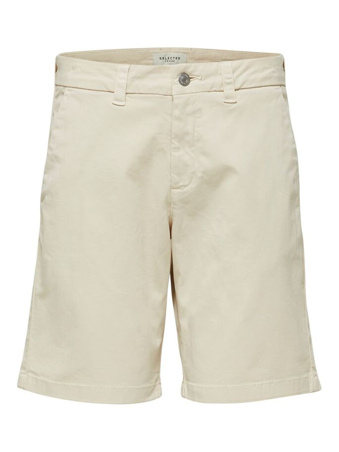 tapered fit comfort stretch shorts