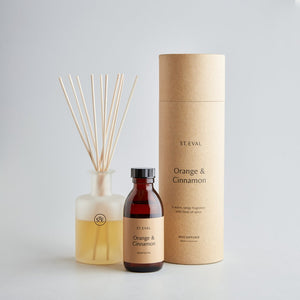 Orange & cinnamon reed diffuser - ST EVAL