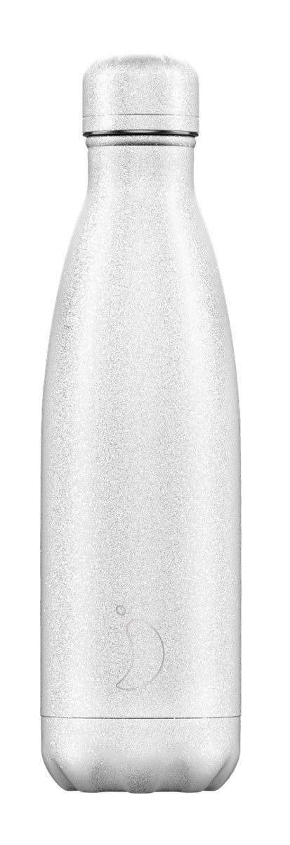 Glitter white chilly bottle - 500ml