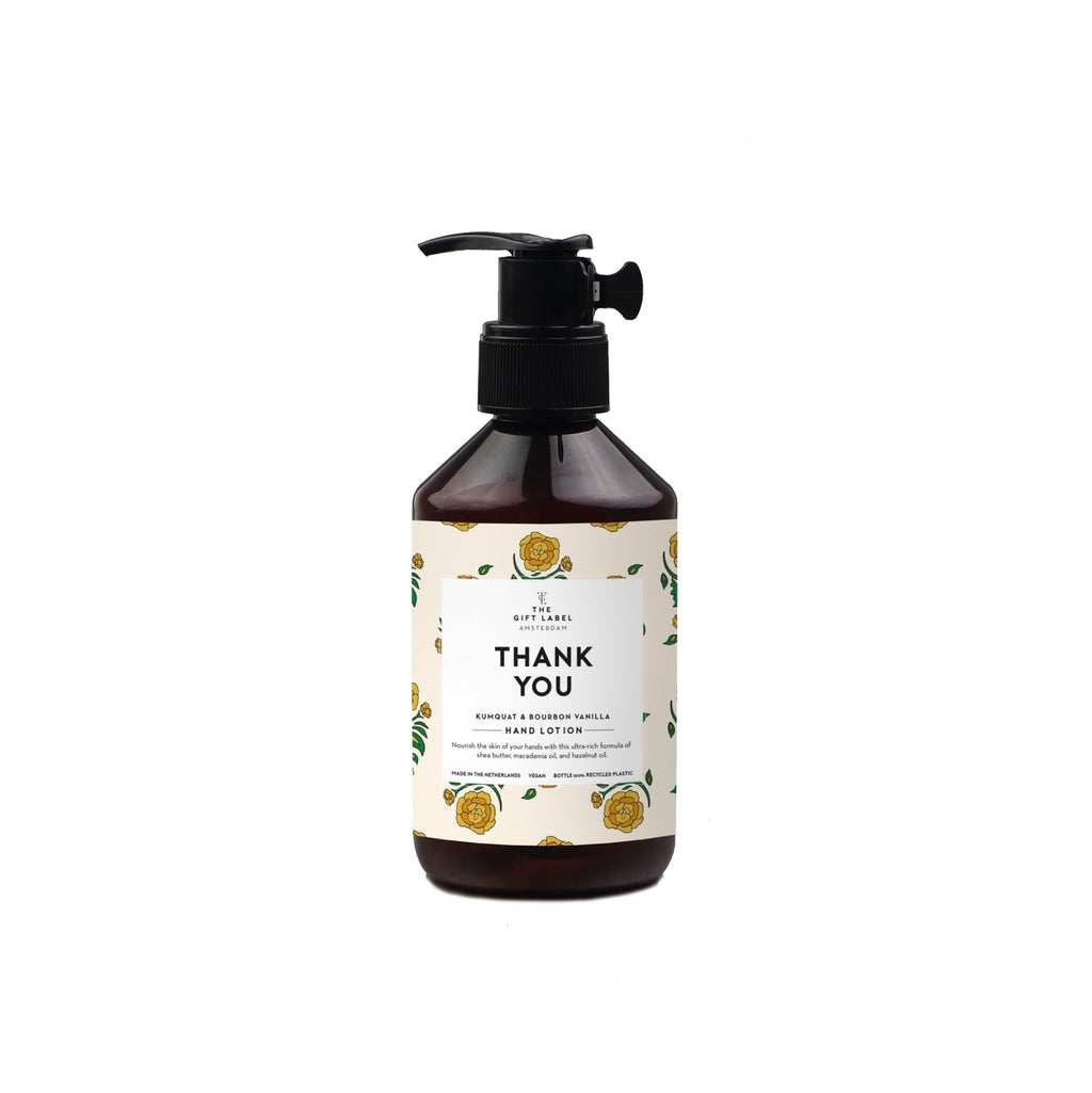 the gift label hand lotion - thank you 250ml